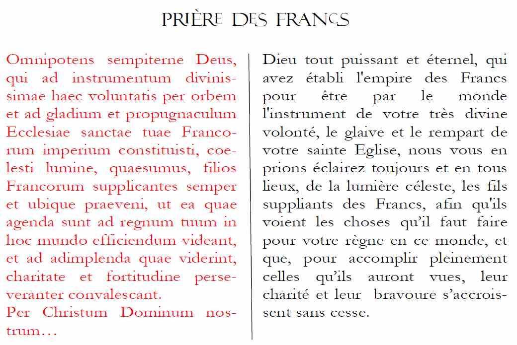 """Résultat de recherche d'images pour """"prière des francs"""""""